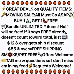 Other - BUY 1 GET 1 FREE SALE WHOLE CLOSET UNLIMITED ITEMS